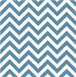 Air Force Blue and White Chevrons