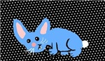 Blue bunny Graphic