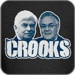 CROOKS: Chris Dodd and Barney Frank
