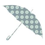 Umbrella Silhouette - circles