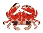 Crab - retro silhouette