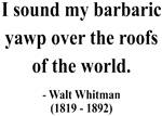Walter Whitman 1