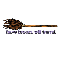 have broom, will travel