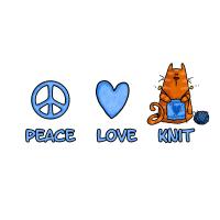 peace, love, knit