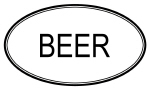 BEER (oval)