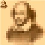Pixelated Shakespeare