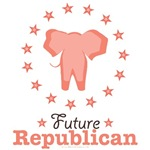 Pink Future Republican GOP Onesie T-shirt Gifts