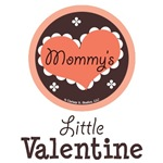 Mommy's Little Valentine Baby Kid T shirt Gifts