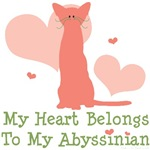 Abyssinian Cat Lover T-shirt Gifts