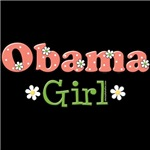 Barack Obama Girl 2008 T shirt Tees Gifts