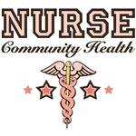 Community Health Nurse T shirt Caduceus Gifts