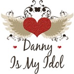 Winged Heart Danny Is My Idol T-shirt Gifts