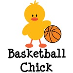 Basketball Chick T-shirt Tees and Gifts