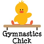 Gymnastics Chick T shirt Tees and Gifts