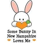 Some Bunny In New Hampshire Loves Me T shirt Gifts