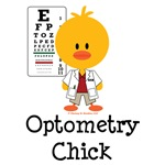 Optometry Chick T shirt Tees Optometrist Gifts