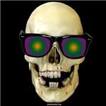 Psychedelic Skull Dark