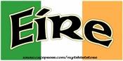 Eire on the Irish Flag