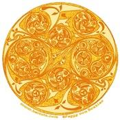 Celtic Spiral Sun Design T-Shirts & Gifts