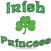 Irish Princess - Shamrock Design
