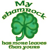 Show Off Shamrock T-Shirts and Gifts