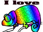 I love Lizards