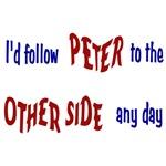 Fringe TV show: I'd Follow Peter Bishop