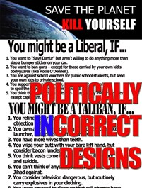Politically Incorrect Designs
