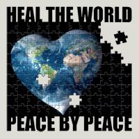 Heal the World Peace by Peace