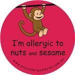 Nuts and sesame-allergy alert