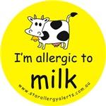 I'm allergic to milk-allergy alert