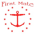 First Mate with anchor and stars