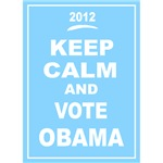 Keep Calm and Vote Obama