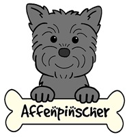 Affenpinscher Cartoon T-Shirts and Gifts