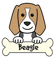 Beagle Cartoon T-Shirts and Gifts
