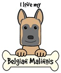 Belgian Malinois Cartoon