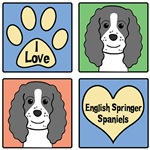 I Love English Springer Spaniels