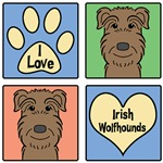 I Love Irish Wolfhounds