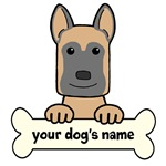 Personalized Belgian Malinois