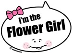 I'm the Flower Girl Quote Bubbles