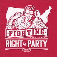 Fighting For The Right To Party