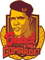 Barack Is My Comrade (Not Distressed Version)