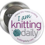 I am Knitting Daily!
