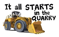 It all Starts in the Quarry !