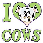 I Love (Heart) Cows