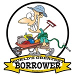 WORLDS GREATEST BORROWER MEN