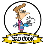 WORLDS GREATEST BAD COOK FEMALE