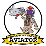 WORLDS GREATEST AVIATOR MALE