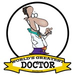 WORLDS GREATEST DOCTOR CARTOON