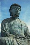 Bronze Budha Meditating East